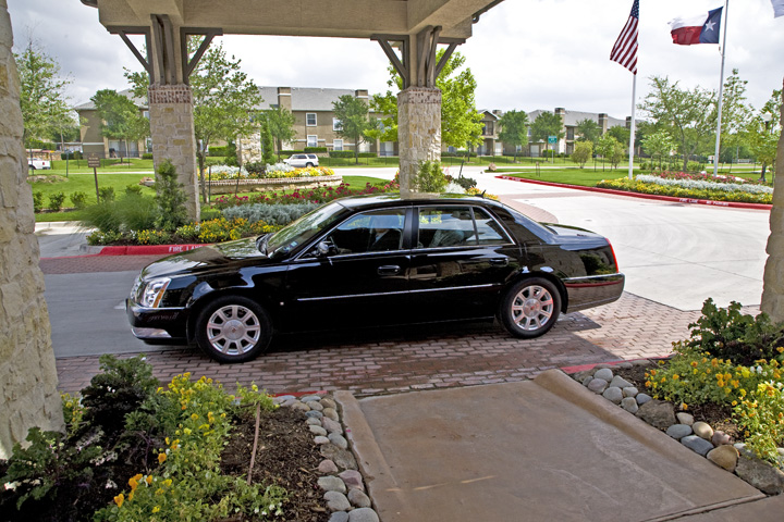 Enjoy private car services to appointments and shopping.