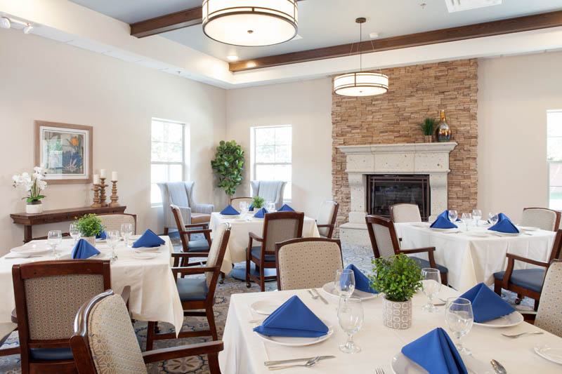 Dining at Parkview isn't what you expect from a retirement community.