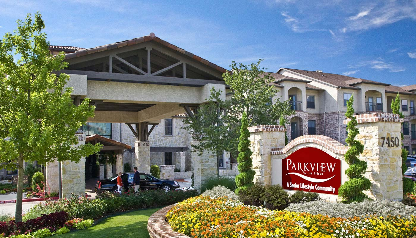 Parkview in Frisco, Resort Style Senior Living