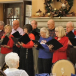 Singers from Stonebriar Community Church.
