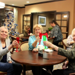 Toasting to a great holiday season.