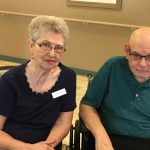 Resident Bill Holland and his wife Yvonne.