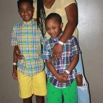 Keauna Hayes and her sons
