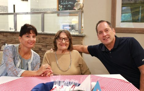 Gardens Residents and Families Celebrate End of Summer