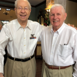 Such wonderful smiles from our honored veterans