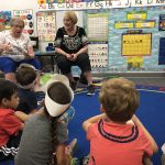 Joan Kane and Annette Staatz bring a light hearted spirit to the classroom.